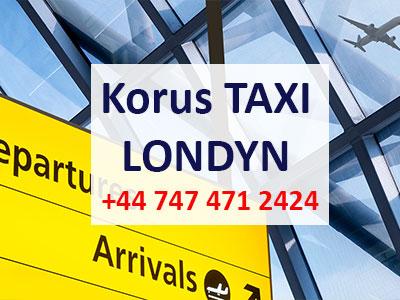 Polskie taxi Londyn -korus